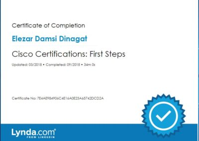 Cisco Certifications First Steps