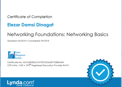 Networking Foundations Networking Basic