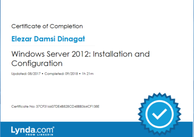 Windows Server 2012 Installation and Configuration